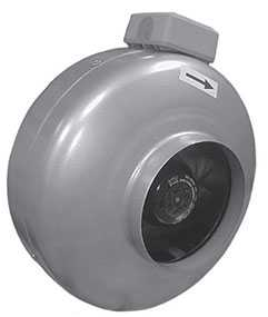 Вентилятор круглый канальный ВКК 160 - Лиссант