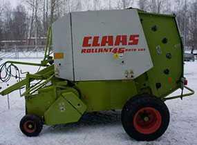 Пресс-подборщик б/у Claas Rollant 46 Roto Cut