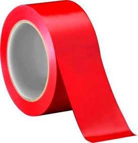 Скотч упаковочный 48 мм х 43 мкм х 66 м красный
