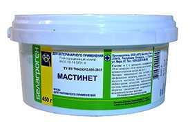 Препарат ветеринарный «Мастинет» (полимерная банка), 450 г - БЕЛАГРОГЕН НПЦ