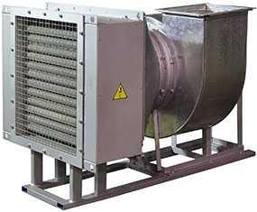 Электрокалориферная установка ЭКОЦ-5