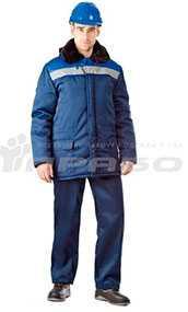Куртка рабочая утепленная Бригадир СОП - ПРАБО