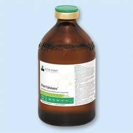 Препарат ветеринарный Нитамин, фл 100 мл - Нита-Фарм