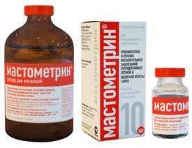 Препарат ветеринарный Мастометрин, фл 100 мл - АлексАнн