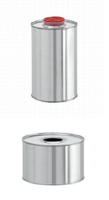 Бидон (ровный) d= 160 мм, h= 175 мм (для химической продукции) - Силган Метал Пэкаджинг