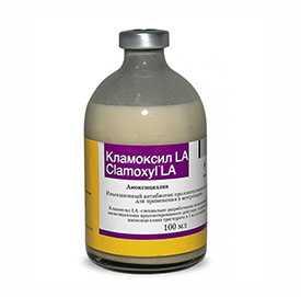 Препарат ветеринарный Кламоксил LA, 100 мл - Pfizer
