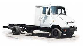 Автомобиль грузовой ЗИЛ-5301К2, шасси - ЗИЛ (Россия)