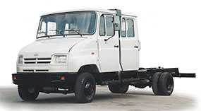 Автомобиль грузовой ЗИЛ-5301М2, шасси - ЗИЛ (Россия)