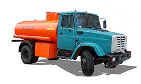 Автомобиль АТЗ 7 топливозаправщик (бензовоз) - ЗИЛ (Россия)