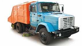 Автомобиль ПУМ-69 подметально-уборочный - ЗИЛ (Россия)