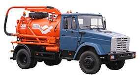 Автомобиль КО-510 вакуумный - ЗИЛ (Россия)