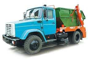 Автомобиль МКС-1/МКС-2700 мусоровоз контейнерный - ЗИЛ (Россия)