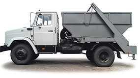 Автомобиль КО-440-АД мусоровоз контейнерный - ЗИЛ (Россия)