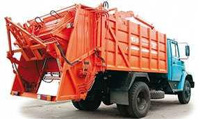 Автомобиль МКЗ-2703 мусоровоз с задней загрузкой - ЗИЛ (Россия)
