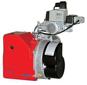 Горелка газовая MAX GAS 40 P TW одноступенчатая - Ecoflam (Италия)