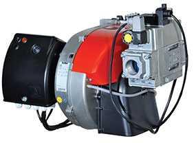 Горелка газовая MAX GAS 350 P TW одноступенчатая - Ecoflam (Италия)