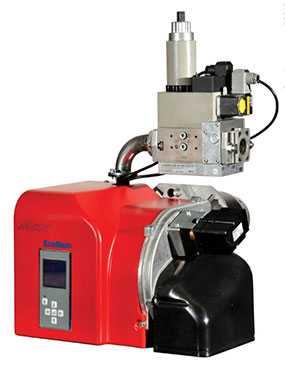 Горелка газовая MAX GAS 250 PAB TW двухступенчатая - Ecoflam (Италия)