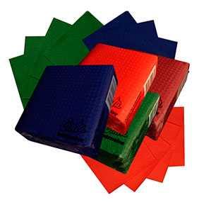 Салфетки бумажные Cinta Intensive зеленые- ПОЛОЦКАЯ БУМАЖНАЯ КОМПАНИЯ