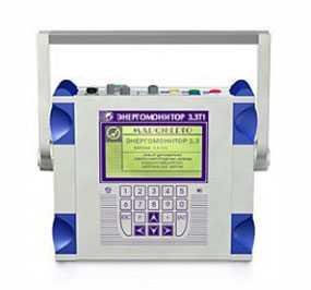 Прибор для измерений электроэнергетических величин и показателей качества электроэнергии Энергомонитор-3.3 Т1 - - Электронприбор (Россия)