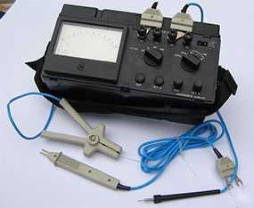 Микроомметр Ф4104-М1 многопредельный - Электронприбор (Россия)