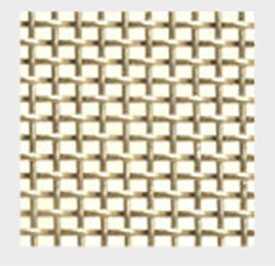 Сетка тканая металлическая одинарная из бронзы марки БрОФ номер 12, ТМ Rosset (Россет) - Краснокамский завод металлических сеток (Россия)