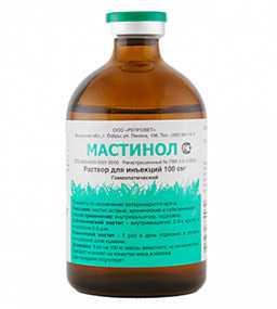 Препарат ветеринарный Мастинол, 100 мл - РЕПРОВЕТ