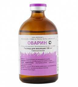 Препарат ветеринарный Оварин, 100 см3 - Агровет