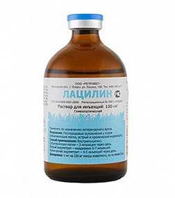 Препарат ветеринарный Лацилин, 100 см3 - Агровет