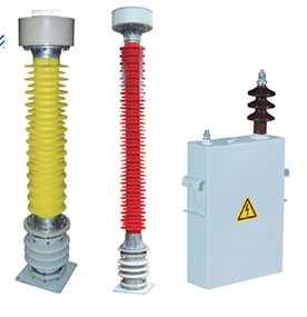 Конденсатор СМВ-166/√3-14 Т1 в фарфоровых покрышках для линий электропередачи напряжением 500 кВ - Квазар (Россия)