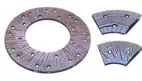 Гарнитура литая для дисковых мельниц УИ-43.22.01.001 - КМЗ Сегмент АО (Россия)