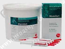 Препарат ветеринарный Мамифорт шприц 10 мл, банка 48 шт - СИВА