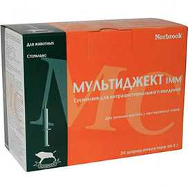 Препарат ветеринарный Мультиджект, 5 г - Norbrook Laboratories