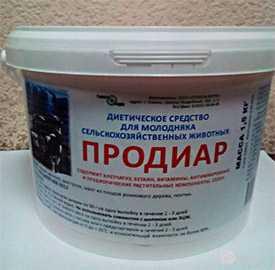 Препарат ветеринарный Продиар, ведро 3 кг -Гомельфарм