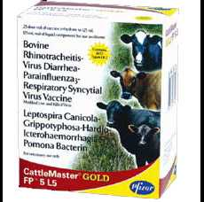 Препарат ветеринарный Кэтлмастер Голд FP5 L5, фл. 25 доз - Pfizer
