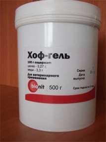 Препарат ветеринарный Хоф-Гель, 500 г - Новодез
