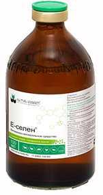 Препарат ветеринарный Е-селен, 100 мл - Нита-Фарм