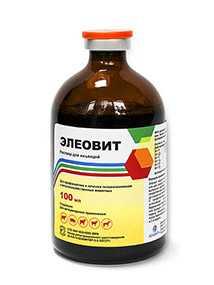 Препарат ветеринарный Элеовит (Eleovitum), 100 мл - Асконт+