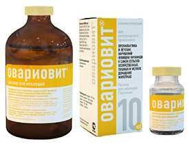 Препарат ветеринарный Овариовит, 100 мл - АлексАнн