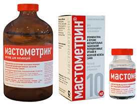 Препарат ветеринарный Мастометрин, 100 мл - АлексАнн