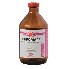 Препарат ветеринарный Энромаг 10%, 100 мл - МосАгроГен