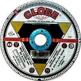 Круг зачистной GLOBE Grindpower II 125х7,0х22,2 - Globe (Италия)