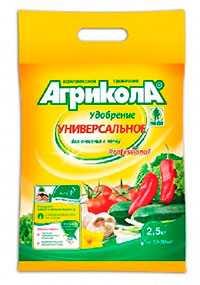 Удобрение универсальное комплексное АГРИКОЛА №3, пакет=50 гр, 100 шт/кор - ТЕХНОЭКСПОРТ