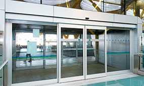 Двери автоматические раздвижные GEZE Powerdrive - GEZE (Германия)