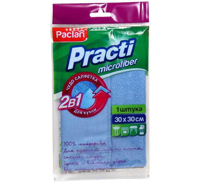 Салфетка из микрофибры Paclan (30х30 см) - PACLAN