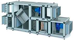 Приточная вентиляционная установка NED LITENED 60 - 30 - NED