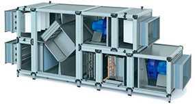 Приточно-вытяжная вентиляционная установка NED AIRNED-M 6 - NED