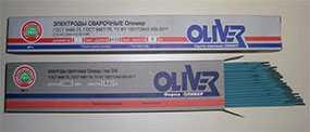 Cварочный электрод АНО-21 Оливер (d=5,0 мм) для углеродистых и низколегированных сталей - ОЛИВЕР