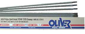 Cварочный электрод УОНИ-13/55 Оливер (d=5,0 мм) для углеродистых и низколегированных сталей - ОЛИВЕР