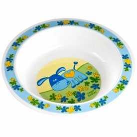 Тарелка пластиковая мелкая. 'Веселые зверята', Арт. 4/411 - Canpol babies