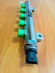 Рампа топливная распределительная (рейл) Д 245 0445224047 евро 3 - Bosch